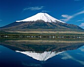 dormant, fuji, fujiyama, Japan, Asia, majestic, mou. Asia, Dormant, Fuji, Fujiyama, Holiday, Japan, Landmark, Majestic, Mount, Mount fuji, Mountain, Peak, Reflect, Reflected, Reflec
