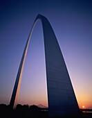 arch, commemorative, dusk, gateway, landmark, Misso. America, Arch, Commemorative, Dusk, Gateway, Holiday, Landmark, Louis, Missouri, Monument, Steel, Sunset, Symbol, Tourism, Trave