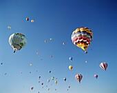 Albuquerque, Colourful, Hot Air Balloons, New Mexic. Air, Albuquerque, America, Balloons, Colourful, Holiday, Hot, Landmark, New mexico, Sky, Tourism, Travel, United states, USA, Va