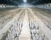 Battle Formation, China, Asia, Qin Dynasty, Shaanxi. Army, Asia, Battle, China, Dynasty, Formation, Heritage, Holiday, Landmark, Province, Qin, Shaanxi, Terracotta, Terracotta warri