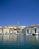 Harbour, Piran, Primorska Region, Slovenia, Town Vi. Harbour, Holiday, Landmark, Piran, Primorska, Region, Slovenia, Europe, Tourism, Town, Travel, Vacation, View