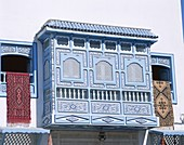 Decorative Blue Window, Kairouan, Tunisa, . Blue, Decorative, Holiday, Kairouan, Landmark, Tourism, Travel, Tunisia, Africa, Vacation, Window