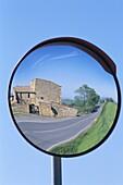 Farmhouse, Italy, Reflection, Road, Road Mirror, Tu. Farmhouse, Holiday, Italy, Europe, Landmark, Mirror, Reflection, Road, Tourism, Travel, Tuscany, Vacation