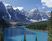 Alberta, Banff, Banff National Park, Canada, Morain. Alberta, Banff, Banff national park, Canada, North America, Holiday, Landmark, Moraine lake, Rockies, Tourism, Travel, Vacation