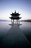 China, Asia, Chinese Architecture, Hangzhou, Lake, . Architecture, Asia, China, Chinese, Exercising, Hangzhou, Holiday, Lake, Landmark, Moody, Pagoda, People, Province, Temple, Tour