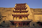 China, Asia, Dunhuang, Gansu, Gansu Province, Mogao. Asia, China, Dunhuang, Gansu, Heritage, Holiday, Landmark, Mogao caves, Province, Silk road, Tourism, Travel, Unesco, Vacation