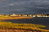 Sunset at Stanhope village in Cevahead bay  Prince Edward Island, Canada