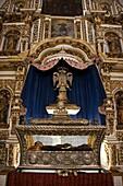San Francisco Church views at Puebla City, Mexico