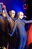 Premiere in Kuwait of the new Cirque du Soleil Show. November 2010