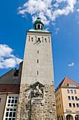 Lauenturm, Lawska weza, Bautzen, Budysin, Budysyn, Budziszyn, Dresden region, Eastern Saxony, Upper Lusatia, Germany