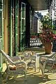 luxury hotel Soniat House, Chartres Street, French Quarter neighborhood, New Orleans, Louisiana, United States of America, Americas