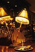Arnaud´s Restaurant bar, Bienville Street, French Quarter neighborhood, New Orleans, Louisiana, United States of America, Americas
