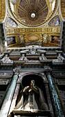 Interior Basilica Santa Maria Maggiore Cappella Sistina SS Sacramento Rome Italy
