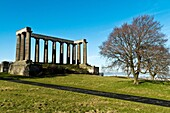 Parthenon memorial CALTON HILL EDINBURGH National monument Napoleonic war unfinished monument Athens of the north