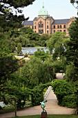 Denmark, Copenhagen, Botanical Gardens, general view
