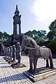 Vietnam -Nov.2009 Hue City Khai Ding Mausoleum (W.H.)