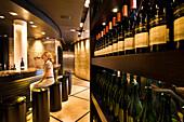 South Africa, Western Cape Province, Winelands, Franschhoek valley, Wine road, Graham Beck Estate (1983), the tasting room