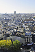 France, Ile-de-France, Capital, Paris, 5th, City center, plunging View(Sight