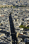 France, Ile-de-France, Capital, Paris, 6th, City center, plunging View(Sight), Saint-Germain-des-Près