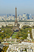 France, Ile-de-France, Capital, Paris, 7th, City center, plunging View(Sight), Eiffel Tower