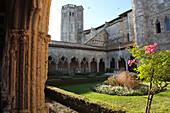 France, Midi-Pyrénées, Gers (32), La Romieu, Saint Pierre colegiate church (Unesco world heritage)