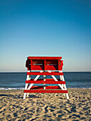 Empty Lifeguard Tower, Cape May, New Jersey, USA