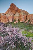 Tufa erosion, Goereme National Park, UNESCO World Nature Site, Cappadocia, Anatolia, Turkey