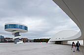 Centro Cultural Internacional. International Cultural Centre, Aviles, province of Asturias, Principality of Asturias, Northern Spain, Spain, Europe