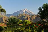 Tahtali mountain near ancient Olympos, Cirali, lycian coast, Lycia, Mediterranean Sea, Turkey, Asia