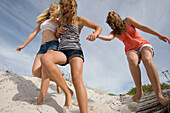 Teenage Girls on Beach. Teenage Girls on Beach