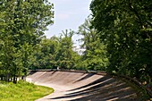 Elevated curve, Autodrome, Monza, Italy