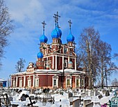 Church of Kazan icon of Our Lady 1694, Ustyuzhna, Vologda region, Russia