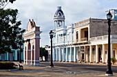Casa de Cultura, House of culture, Parque Jose Marti, Cienfuegos, Cuba, Unesco World Heritage Site