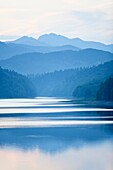 Lokve lake in Gorski Kotar, Croatia