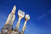 Knife, Fork and Spoon, Switzerland, Canton Graubunden