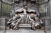 Art Nouveau memorial to Queen Alexandra, Marlborough Road, London, UK