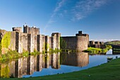 Caerphilly Castle Welsh: Castell Caerffili is a medieval castle that dominates the centre of the town of Caerphilly in south Wales  It is the largest castle in Wales and the second largest in Britain after Windsor Castle  Built mainly between 1268 and 127