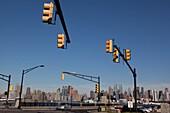 New York - United States, Manhattan skyline, view from New Jersey