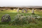 U.K,Cornwall,landscape, Men An Tol  Monument