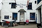 U.K,Cornwall,Polperro, The Blue Peter Inn, Free house