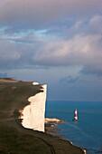 U.K , East sussex, The Coast near Beachy Head