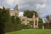 U.K,Sussex,Nymans Gardens and Manor,the ruins