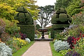 U.K,Sussex,Nymans Gardens and Manor,The Wall Garden