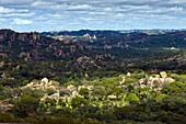 Africa, Zimbabwe, South Matabeleland province, Matobo National Park, the Matobo Mounts classified on the World Heritage of Unesco list since 2003