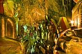 Myanmar (Burma), Shan State, Pindaya, caves Shwe Umin contain more than 8,000 Buddhas kept since the 13th century