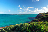 View of Atlantic Coast, Antigua, West Indies, Caribbean, Central America, America