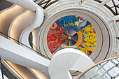 Detail inside of the Canadian Museum of Civilisations, Gatineau, Quebec, Canada, America