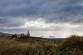 Lighthouse at Cape Horn, Cape Horn National Park, Cape Horn Island, Terra del Fuego, Patagonia, Chile, South America
