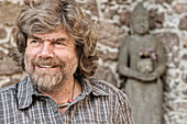 Reinhold Messner, born 17 September 1944, in Brixen, is an Italian mountaineer and explorer from the German-speaking autonomous province Südtirol, Italy, whose astonishing feats on Everest and on peaks throughout the world have earned him the status of th