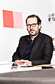 Konstantin Grcic, german industrial designer, photographed in his studio in Munich, Bavaria, Germany, Europe